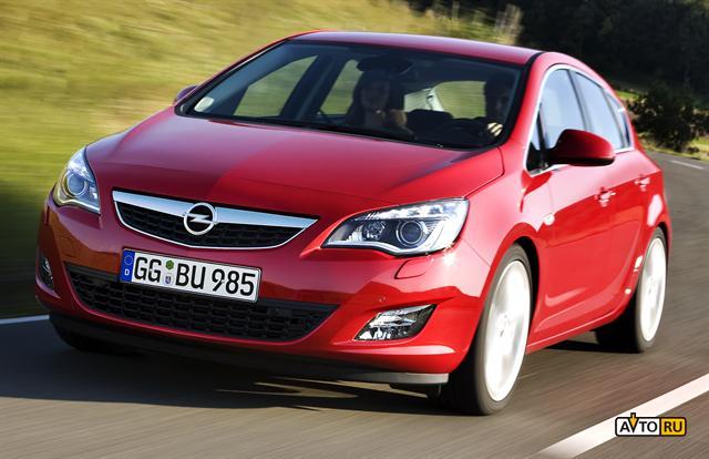 Двери Opel Astra закрываются