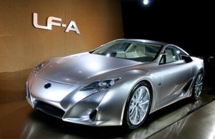 Первый суперкар Lexus