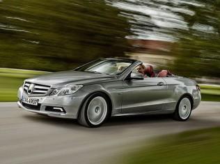 Кабриолет Mercedes-Benz E-Class рассекречен