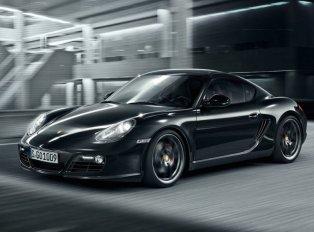 Новое купе Porsche Cayman S Black Edition
