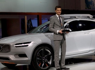 Volvo XC Coup? лучший концепт Детройта