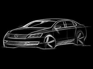 Эскиз нового Volkswagen