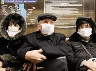 Грипп в Киеве достиг пика