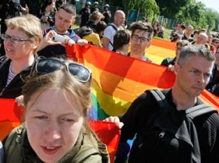 В Киеве молитвами «очистили» место гей-парада