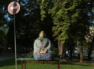 Киевская «Типичная бабушка» осталась без ног