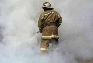Пожар под Киевом обещают потушить за три дня
