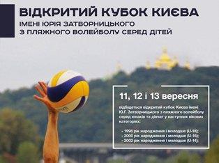 Кубок волейбола на пляже Киева