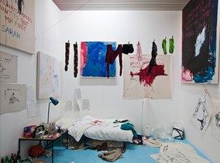 «Голая» инсталляция Трейси Эмин