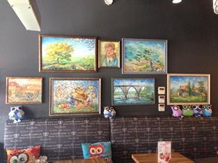 Выставка картин Марины Лялиной
