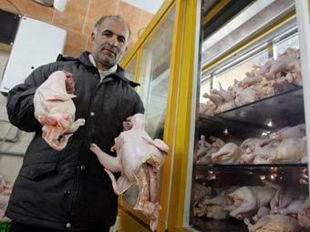 Рекомендации для иранского ТВ по поеданию куриц