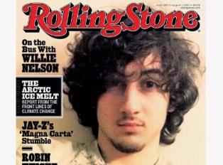 Джохар Царнаев попал на обложку Rolling Stone