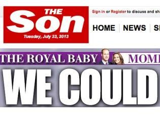 The Sun сменила название в честь первенца