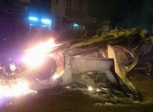 Столкновения с полицией в Батуми