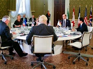 Главы МИД G7 о санкциях молчат
