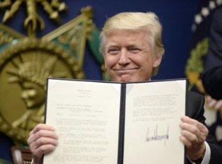 Ужесточающий указ Трампа