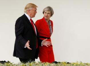 Трамп и Мэй давят на полный разрыв