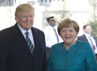 Трамп и Меркель о мирном решении
