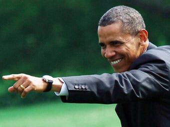 Обама на 12-м месте в рейтинге