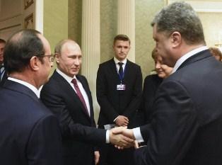 Порошенко хочет опередить Путина