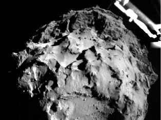 «Филы» коснулся кометы 67P/C–G