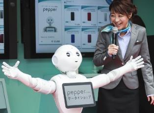 Говорящий робот Pepper принят в школу