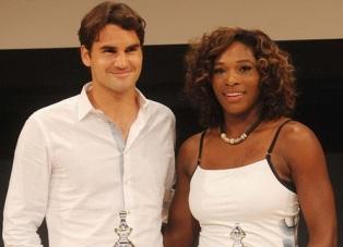 Федерер и Серена Уильямс – лучшие теннисисты года