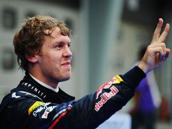 Феттель выиграл Гран-при Испании