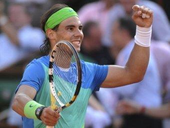 Рафаэль Надаль пробился в финал Roland Garros