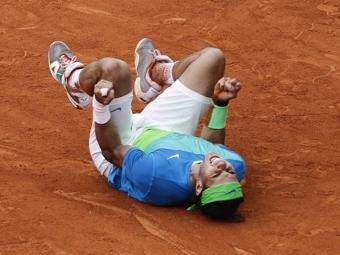 Надаль выиграл Roland Garros